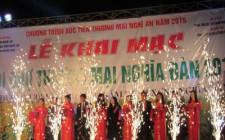 Khai mạc hội chợ thương mại huyện Nghĩa Đàn năm 2015