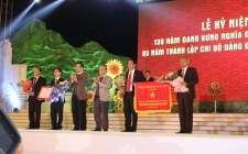 Lễ kỷ niệm 130 năm danh xưng Nghĩa Đàn và 85 năm thành lập chi bộ Đảng đầu tiên của huyện