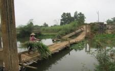 Cầu Máng Nghĩa Minh – cầu dân sinh nguy cơ sập mùa mưa