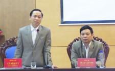Ban chỉ đạo dự án 513 tỉnh làm việc với 6 huyện tại Nghĩa Đàn