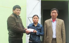 Xã Nghĩa Hưng  xóa nhà tạm cho hộ nghèo