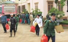 Nghĩa Đàn tiếp nhận 60 quân nhân hoàn thành nghĩa vụ quân sự trở về địa phương