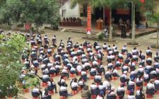 Hơn 500 học sinh được tuyên truyền luật ATGT