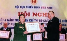 Nữ cựu chiến binh hết lòng với công việc