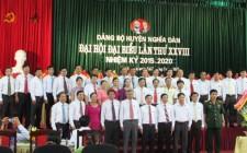 Danh sách ban chấp hành Đảng bộ huyện Nghĩa Đàn khóa XXVIII, nhiệm kỳ 2015 - 2020