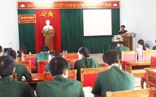 Ban CHQS Nghĩa Đàn Hội thi báo cáo viên, tuyên truyền viên pháp luật