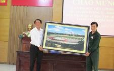 75 học viên  trường Quân khu 4 tham quan huyện Nghĩa Đàn