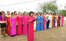 Hội LHPN huyện viếng nghĩa trang liệt sỹ