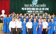 Nghĩa Đàn tổ chức đại hội đại biểu phụ nữ huyện lần XXVIII