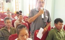 Đại biểu Hội đồng nhân dân tỉnh tiếp xúc cử tri xã Nghĩa Hội