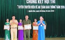 """Chung kết hội thi """" Tuyên truyên viên về ATGT"""" năm 2016"""