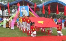 Nghĩa Hội đón bằng công nhận xã đạt chuẩn nông thôn mới
