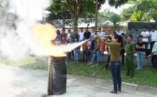 Nghĩa Đàn 60 người được tập huấn PCCC