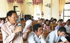 Nghĩa Yên, Nghĩa Thọ đối thoại giữa chính quyền cấp xã với nhân dân năm 2017