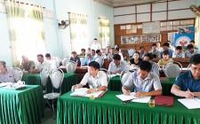 Đại biểu HĐND huyện tiếp xúc cử tri trước kỳ họp thứ 4