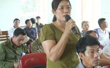 Phó chủ tịch Thường trực UBND tỉnh Lê Xuân Đại  tiếp xúc cử tri Nghĩa Minh, Nghĩa Trung