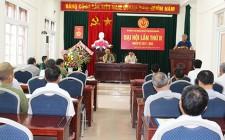 Hội chiến sỹ cách mạng bị địch bắt tù đày đại hội lần thứ II nhiệm kỳ 2017 - 2022