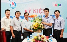 Huyện Nghĩa Đàn chúc mừng các đơn vị báo chí trong tỉnh