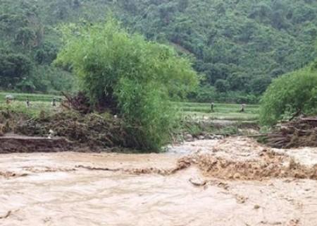 Bão số 2: Đề phòng lũ quét, sạt lở đất trên các sông và vùng núi ở Nghĩa Đàn