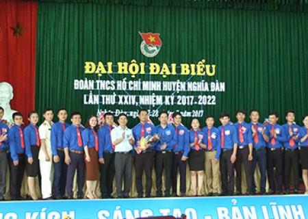 Đồng chí Phan Văn Hiển tái cử bí thư Huyện đoàn Nghĩa Đàn