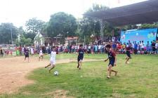 Xã Nghĩa Hưng, thị trấn Nghĩa Đàn khai mạc giải bóng đá thiếu niên hè 2017