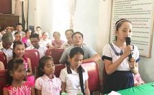 """Đối thoại về thực hiện """"quyền trẻ em, phòng chống bạo lực gia đình và phòng chống xâm hại tình dục trẻ em gái"""""""
