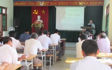 Nghĩa Đàn tập huấn công tác kiểm tra, giám sát năm 2017