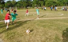 Nghĩa Tân khai mạc Giải bóng đá Thiếu niên - Nhi đồng năm 2017
