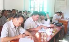 Đảng bộ xã Nghĩa Liên  quán triệt Nghị quyết Trung ương 5 ( khóa XII )