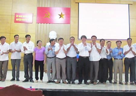 Nghĩa Đàn 10 xóm đăng ký về đích NTM năm 2017