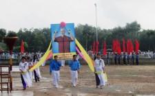850 vận động viên tham gia đại hội thể dục thể thao xã Nghĩa Trung