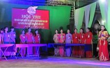 Nghĩa Phú tổ chức giao lưu tìm hiểu nghị quyết Đại hội phụ nữ các cấp
