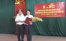 Công bố quyết chỉ định bí thư Đảng ủy xã Nghĩa Lợi