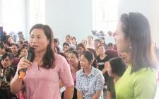 Hội thảo Đừng thờ ơ với nội tiết tố nữ