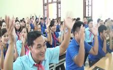 117 học viên được bồi dưỡng lý luận chính trị  và kỹ năng, nghiệp vụ công tác Đoàn – Hội – Đội năm 2017