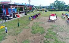 Tổng duyệt chương trình Lễ khai mạc Đại hội thể dục thể thao huyện Nghĩa Đàn lần thứ VIII