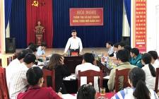 Thẩm định nông thôn mới ở  xã Nghĩa Tân