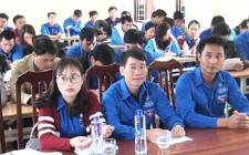 Hơn 80 đoàn viên thanh niên được tập huấn tuyên truyền về bảo vệ môi trường trong xây dựng NTM