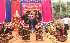 Đồng chí Huỳnh Thanh Điền dự ngày hội Đại đoàn kết toàn dân tộc ở Nghĩa Đàn