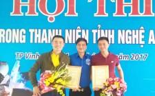 Nghĩa Đàn có 2 đoàn viên đạt giải ở Hội thi Thợ giỏi trong Thanh niên tỉnh Nghệ An năm 2017