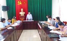 Đảng bộ Nghĩa Tân tổ chức hội nghị kiểm điểm năm 2017