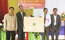 Bản Tồng Mòn xã Nghĩa Thịnh kỷ niệm 90 năm thành lập