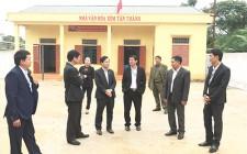 Thẩm định công nhận xã đạt chuẩn NTM ở  Nghĩa Tân