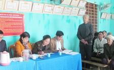 Đại biểu HĐND huyện Nghĩa Đàn tiếp xúc cử tri ở Nghĩa Lộc, Nghĩa Liên