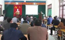 Tập huấn nghiệp vụ QLNN về tài nguyên môi trường