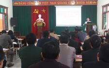 Tập trung học tập, quán triệt và tuyên truyền  Nghị quyết Trung ương 6 (khóa  XII)