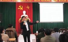 129 học viên được tập huấn công tác Quản lý Nhà nước về hoạt động báo chí