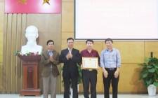Chi cục Thuế huyện Nghĩa Đàn được bộ Tài chính tặng Bằng khen