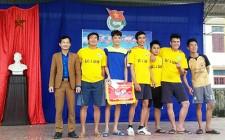 Nghĩa Khánh tổ chức giải bóng chuyền nam xuân 2018