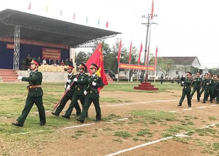 Nghĩa Đàn ra quân huấn luyện năm 2018